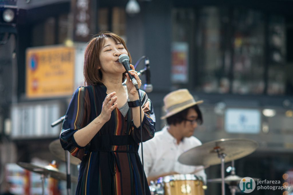 Another jazz band I took during the festival. This group hails from Toyama Prefecture.