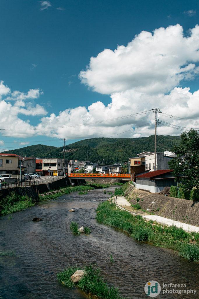 A view from a bridge taken using polarizer.